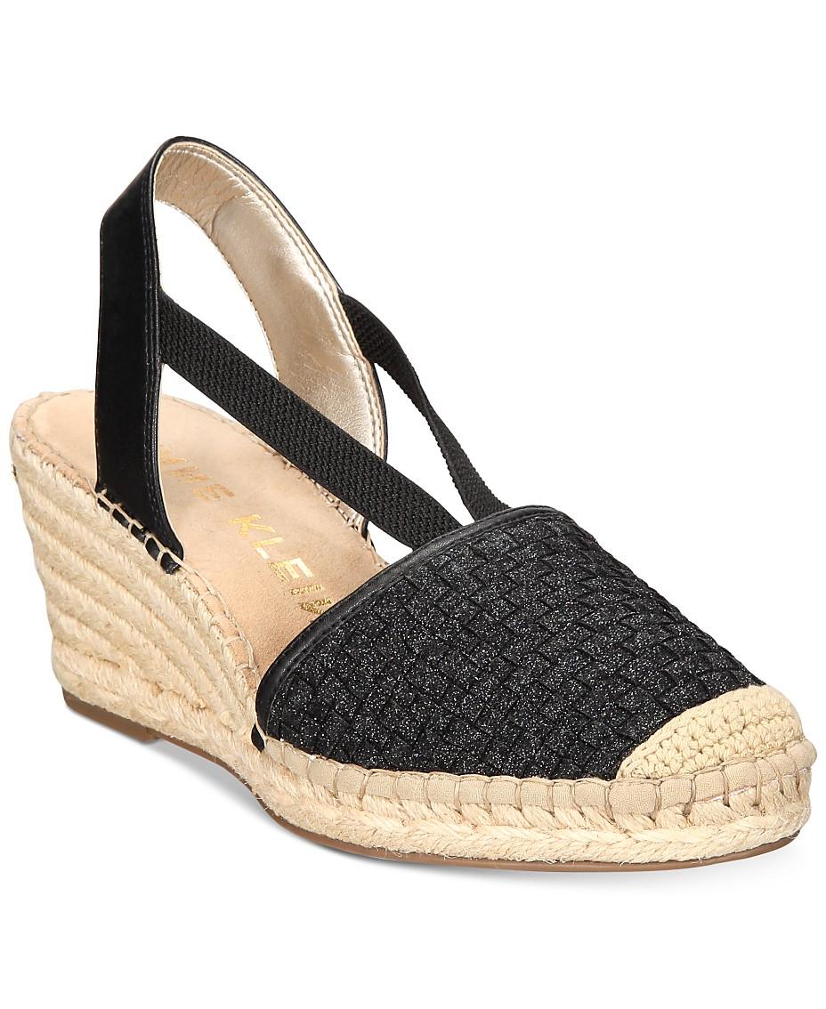 a490e366ed1 Anne Klein Aneesa Wedge Sandals & Reviews - Sandals & Flip Flops ...