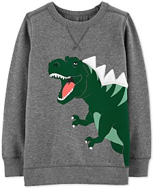 Carter's Little & Big Boys Dinosaur Graphic Sweatshirt