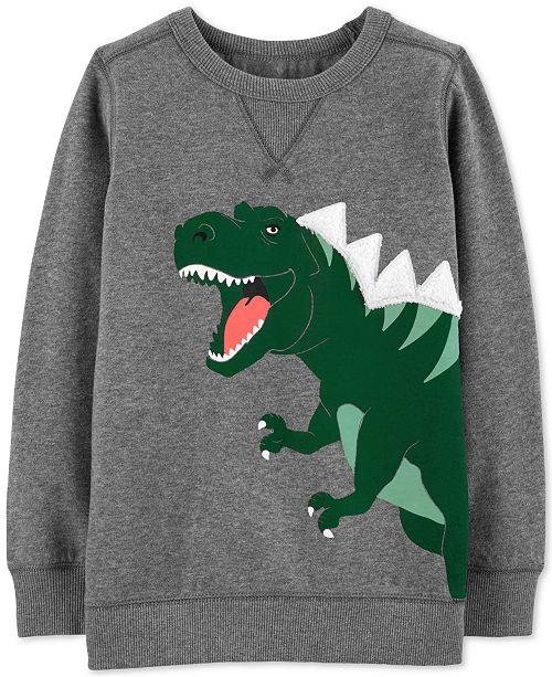 Carter's Little & Big Boys Dinosaur Graphic Sweatshirt