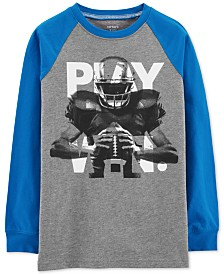 Carter's Little & Big Boys Football Graphic Cotton T-Shirt
