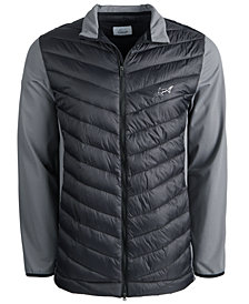 Attack Life  by Greg Norman Men's Hybrid Puffer Jacket, Created for Macy's