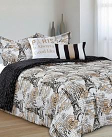 Amelie5-Piece Comforter Full/Queen Set