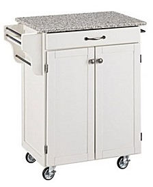Cuisine Cart Salt and Pepper Granite Top