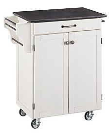 Home Styles Cuisine Cart Granite Top