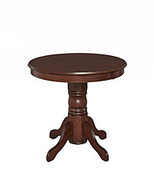 "Home Styles 42"" Round Dining Table Cottage Oak Finish"