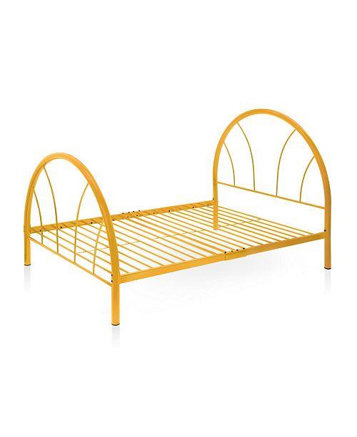 Furniture of America Capelli Full Metal Arch Bed