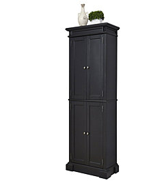 Home Styles Americana Black Pantry