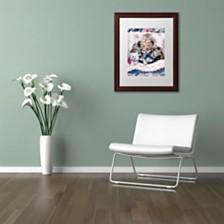 "Jenny Newland 'Kittens And Teddy Bear' Matted Framed Art, 11"" x 14"""