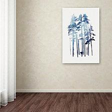 Robert Farkas 'Winter Wolf' Canvas Art