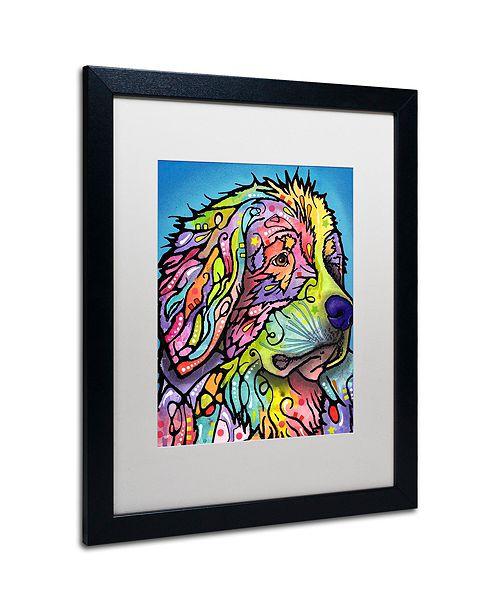"Trademark Global Dean Russo 'Mountain Dog' Matted Framed Art, 16"" x 20"""