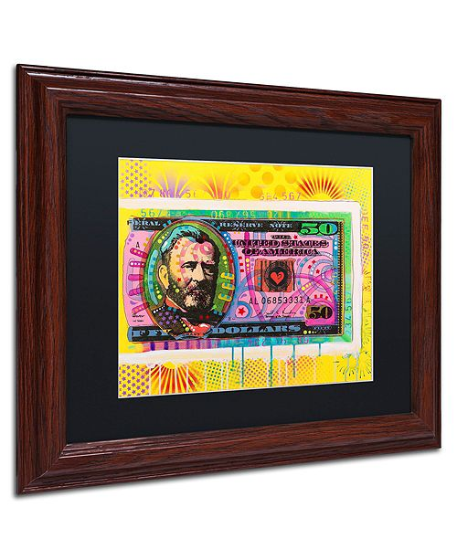 """Trademark Global Dean Russo 'Halfway There' Matted Framed Art, 11"""" x 14"""""""