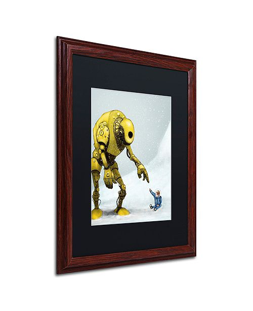 "Trademark Global Craig Snodgrass 'Discovery' Matted Framed Art, 16"" x 20"""