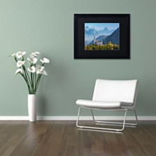 "Michael Blanchette Photography 'Sublime Vista' Matted Framed Art, 11"" x 14"""