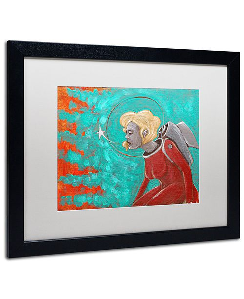 "Trademark Global Craig Snodgrass 'Wish' Matted Framed Art, 16"" x 20"""