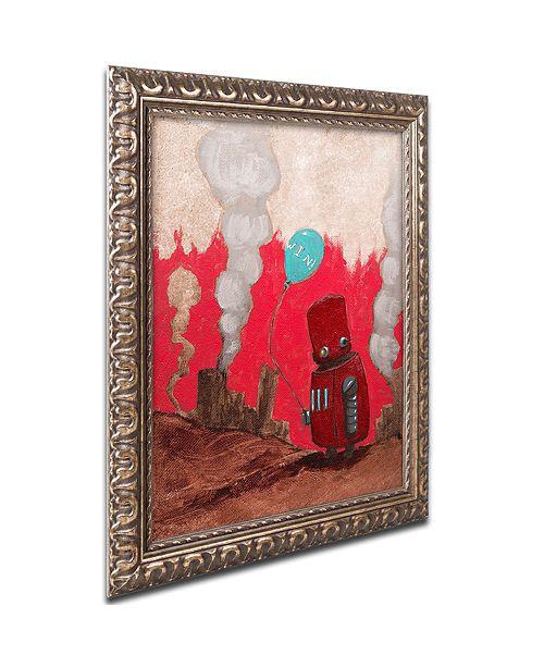 "Trademark Global Craig Snodgrass 'Win!' Ornate Framed Art, 11"" x 14"""