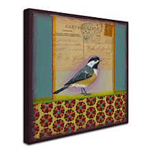 Rachel Paxton 'Chickadee' Canvas Art