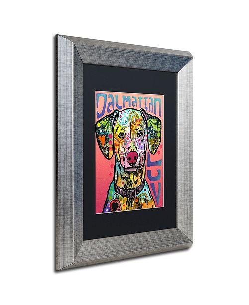 "Trademark Global Dean Russo 'Dalmatian Luv' Matted Framed Art, 11"" x 14"""