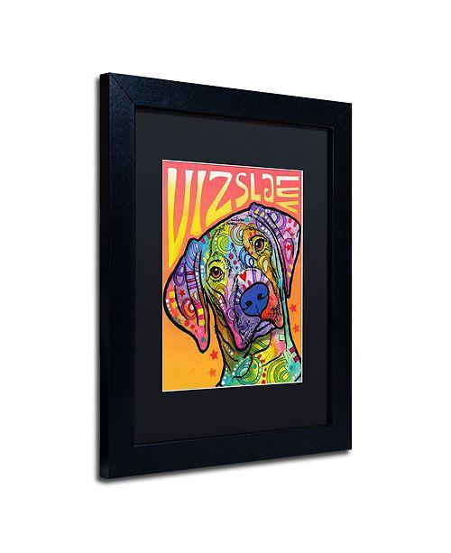 "Trademark Global Dean Russo 'Vizsla Luv' Matted Framed Art, 11"" x 14"""