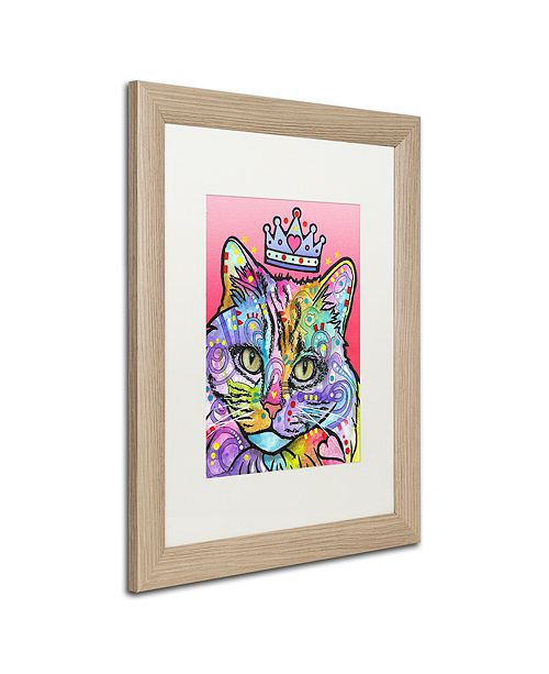 """Trademark Global Dean Russo 'Love Cat 5' Matted Framed Art, 16"""" x 20"""""""