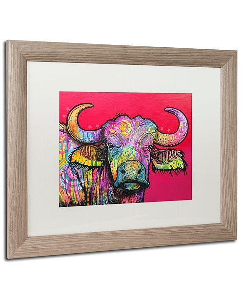 "Trademark Global Dean Russo 'Wildebeest' Matted Framed Art, 16"" x 20"""
