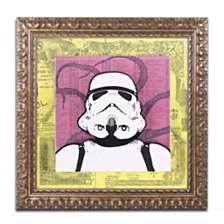 "Dean Russo 'Stormtrooper' Ornate Framed Art - 16"" x 16"""