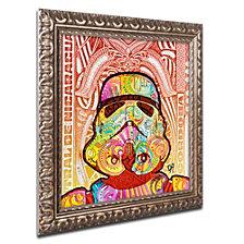Dean Russo 'Stormtrooper' Ornate Framed Art