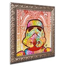 "Dean Russo 'Stormtrooper' Ornate Framed Art, 16"" x 16"""