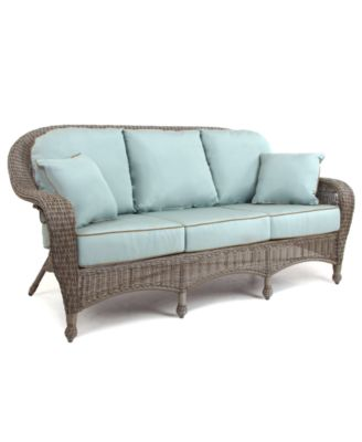 Sandy Cove Wicker Outdoor Sofa