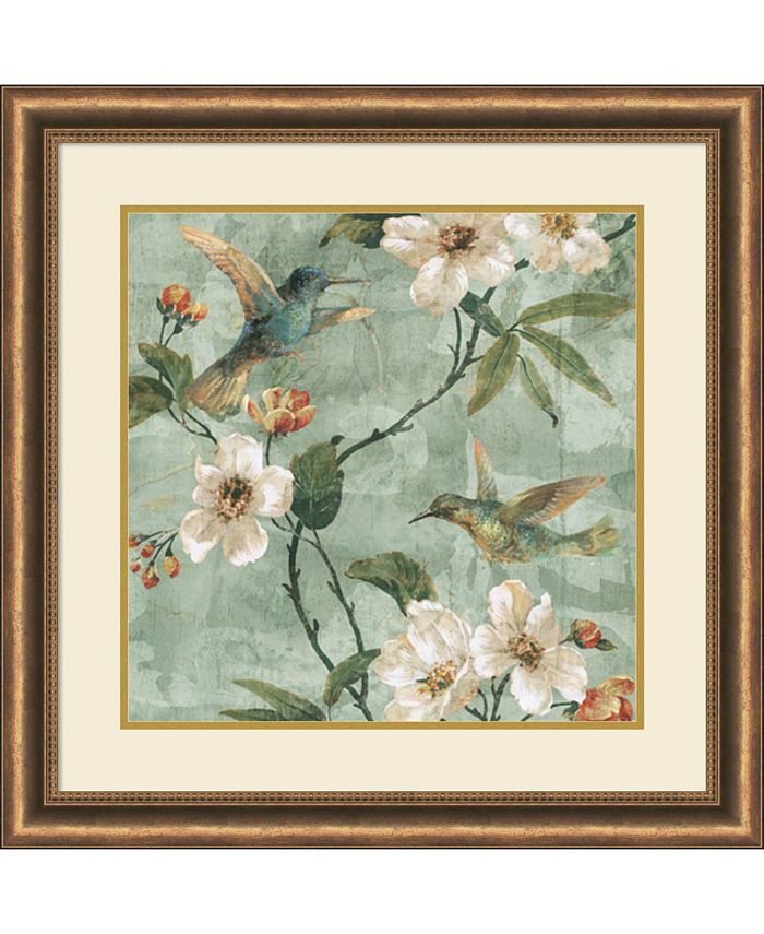 Amanti Art - Birds of a Feather II 29x29 Framed Art Print