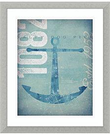 Amanti Art Nautical II - Anchor Framed Art Print