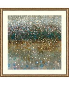Amanti Art Abstract Rain Framed Art Print