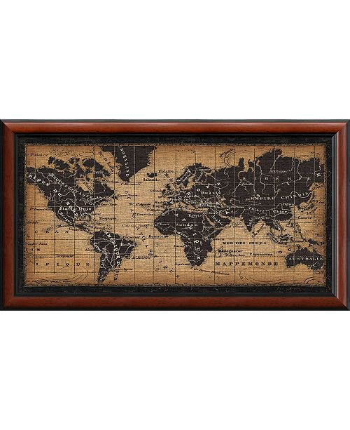 Amanti Art Old World Map Framed Art Print Home Macy S