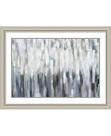 Silver Rain  Framed Art Print