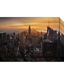 Amanti Art Manhattan'S Light  Canvas Art Gallery Wrap