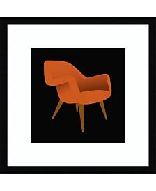 Amanti Art Mid Century Chair II Framed Art Print