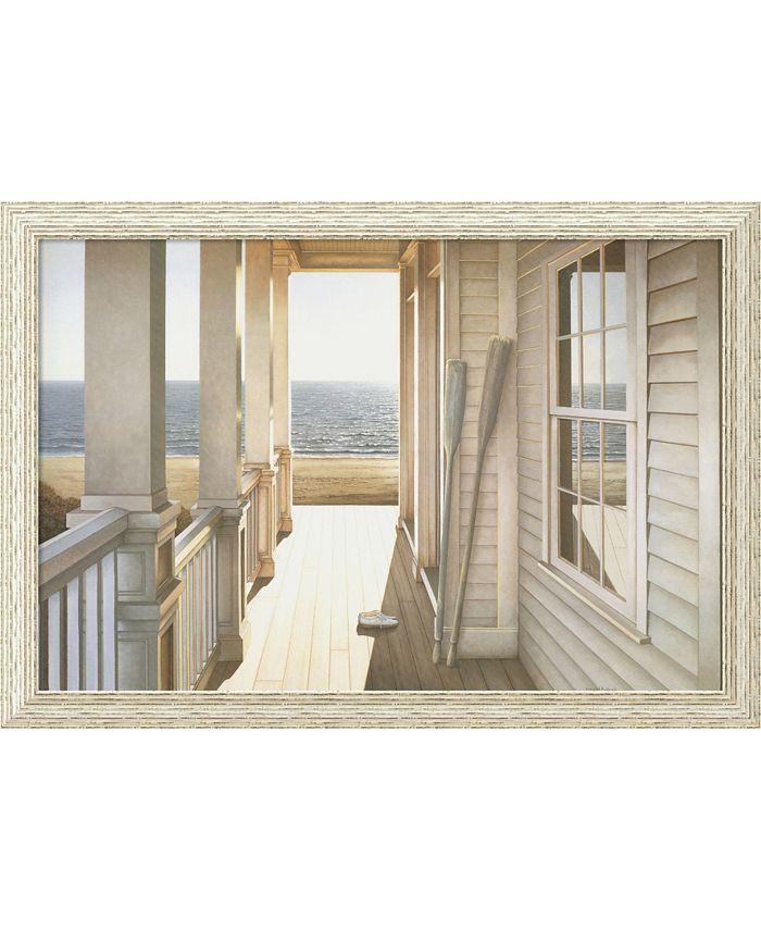 Amanti Art - Serenity 39x27 Framed Art Print