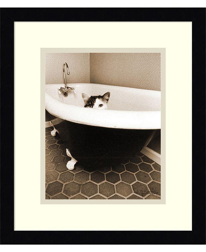 Amanti Art - Kitty III 13x15 Framed Art Print