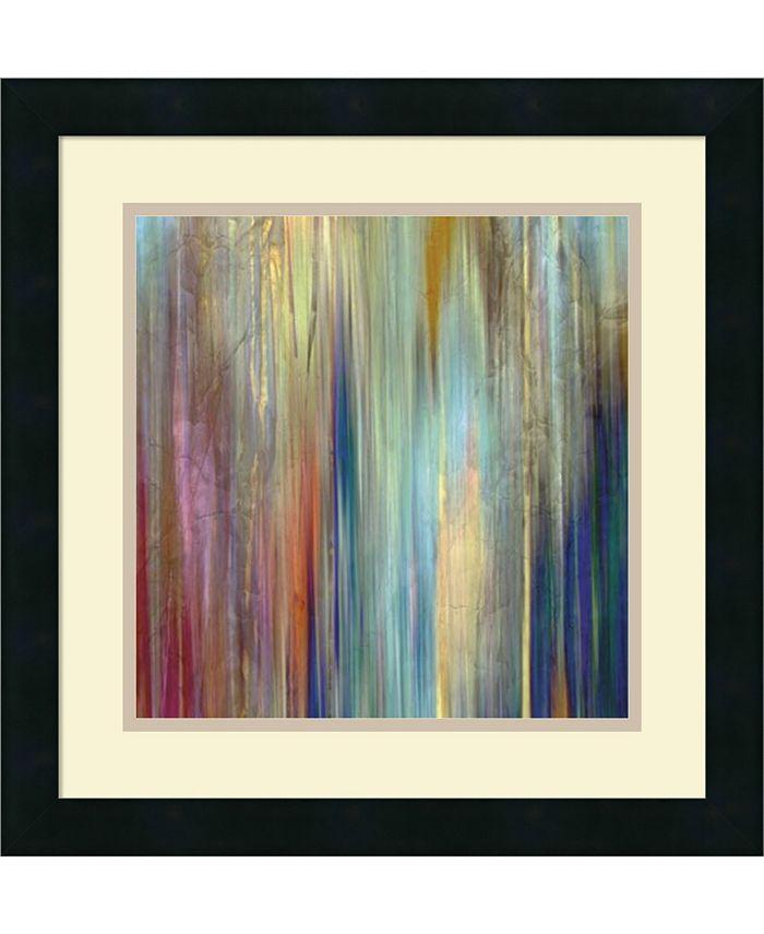 Amanti Art - Sunset Falls II 18x18 Framed Art Print