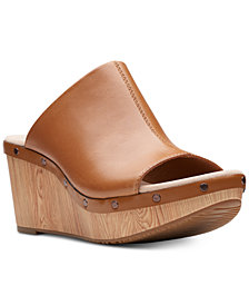Clarks Women's Annadel Molly Wedge Sandals