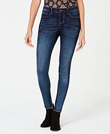 Style & Co Faux-Fly Skinny Jeans, Created for Macy's