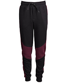Ideology Big Boys Ottoman Colorblocked Jogger Pants, Created for Macy's