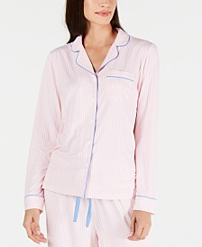 Charter Club Notch-Collar Pajama Top, Created for Macy's