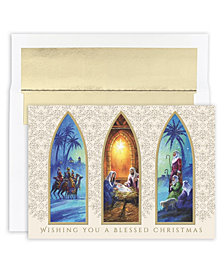 Masterpiece Studios Christmas Triptych Boxed Holiday Cards