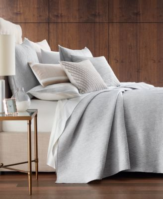 Lateral 180-Thread Count Full/Queen Coverlet, Created for Macy's