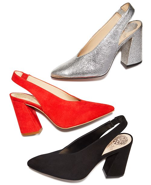 cf63aa6aebe Vince Camuto Tashinta Slingback Pumps & Reviews - Pumps - Shoes - Macy's