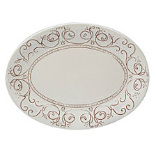 Certified International Terra Nova Oval Platter