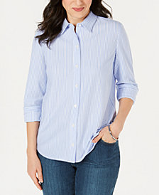 Charter Club Cotton Shirt, Created for Macy's