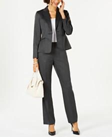 Le Suit One-Button Pantsuit