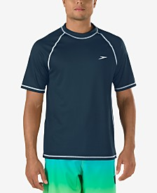 Speedo Men's Easy Rash Guard Swim T-Shirt