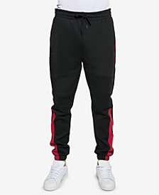 Sean John Men's Racing Regular-Fit Stripe Track Pants